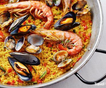 španělské jídlo paella