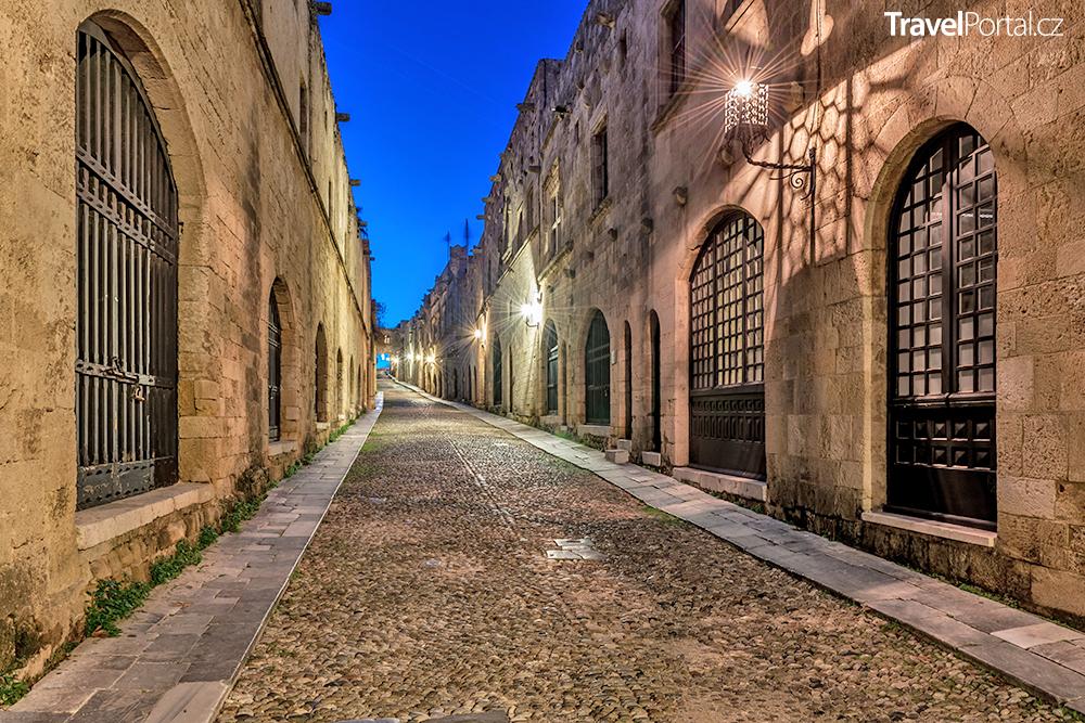 Rytířská ulice neboli Odos Ippoton