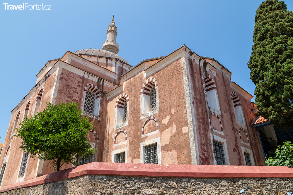 Sulejmanova mešita, město Rhodos