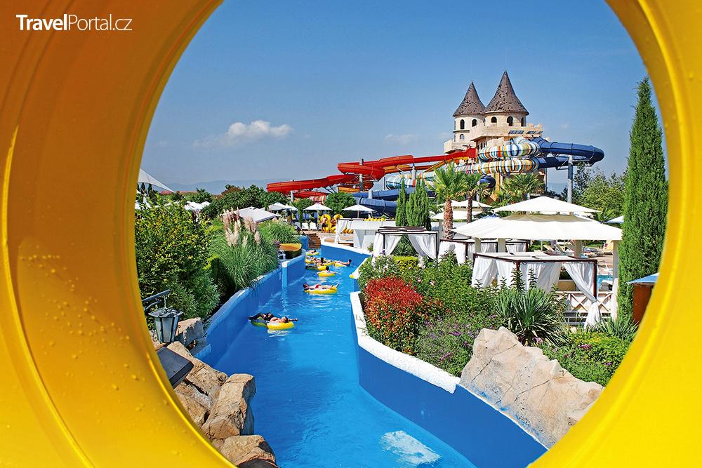aquapark Nessebar v oblasti Burgas