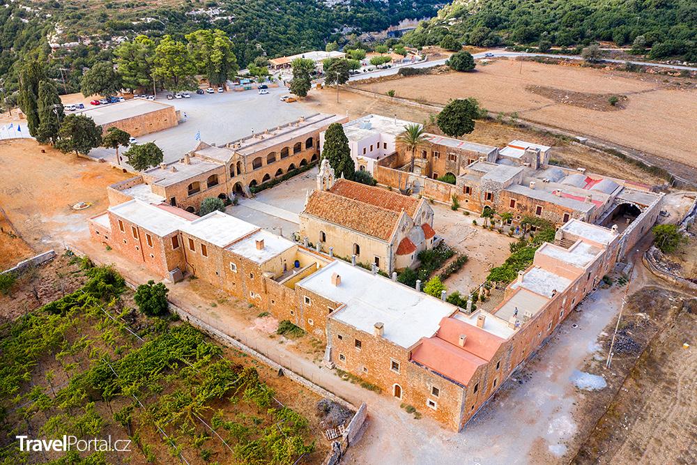 areál kláštera Arkadi