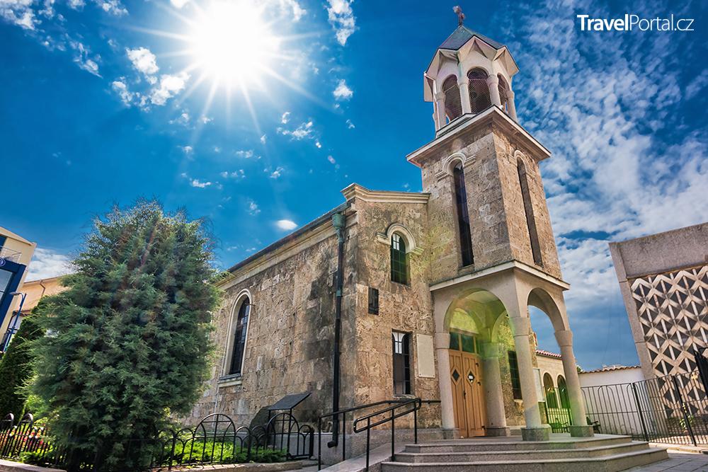 arménský kostel Svatého kříže