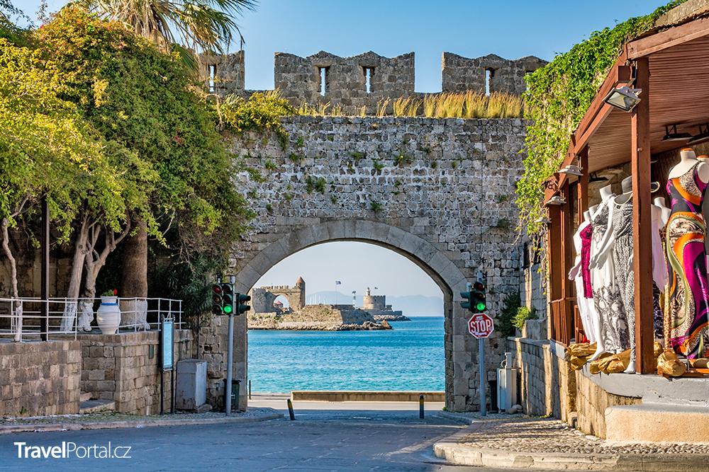 brána svaté Kateřiny