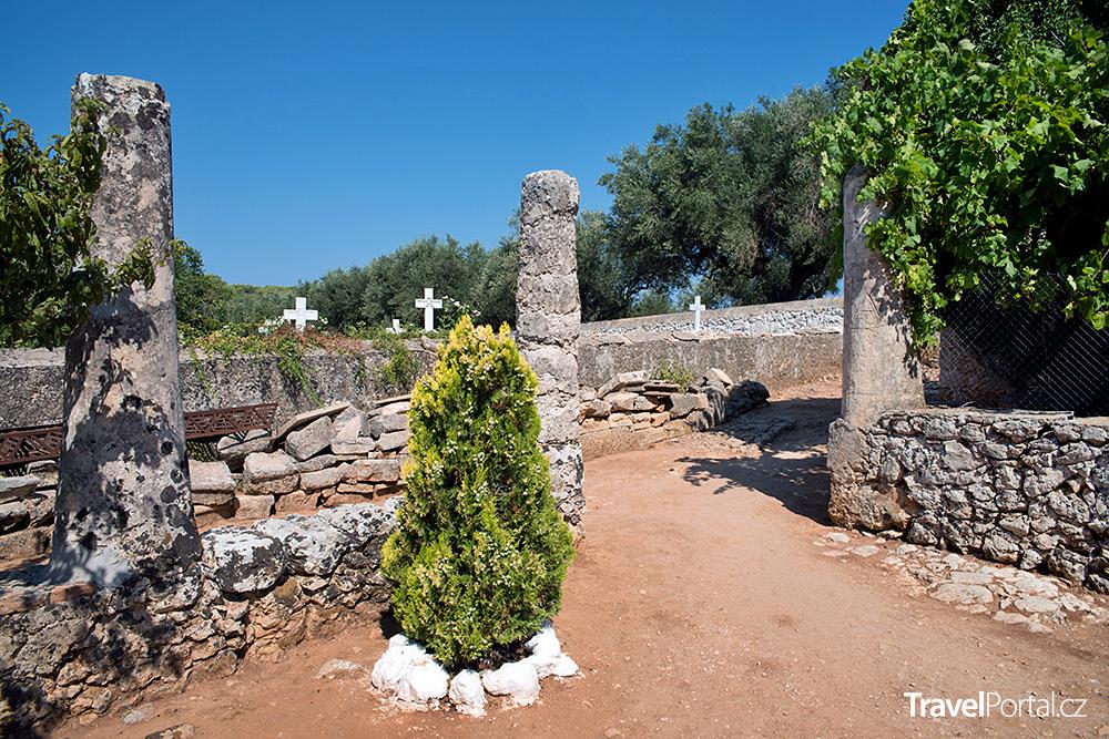 hřbitov na Zakynthosu