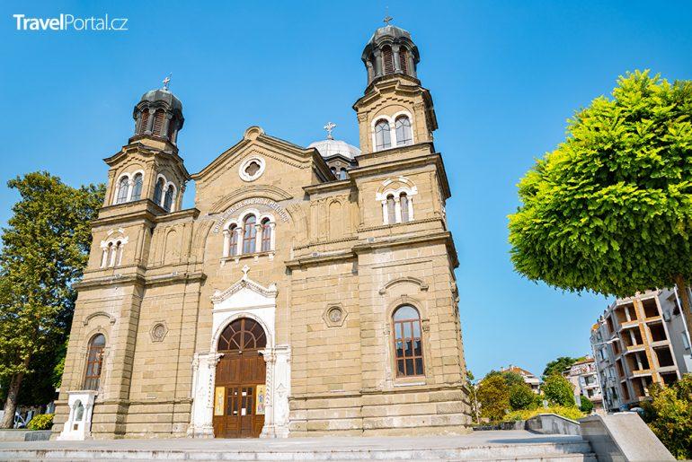 katedrála svatého Cyrila a Metoděje ve městě Burgas