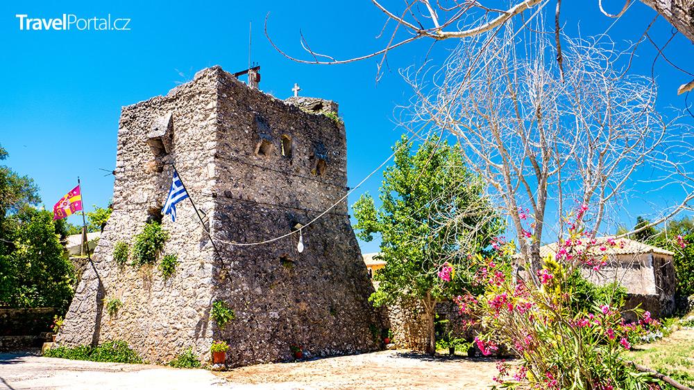klášter Anafonitria na ostrově Zakynthos