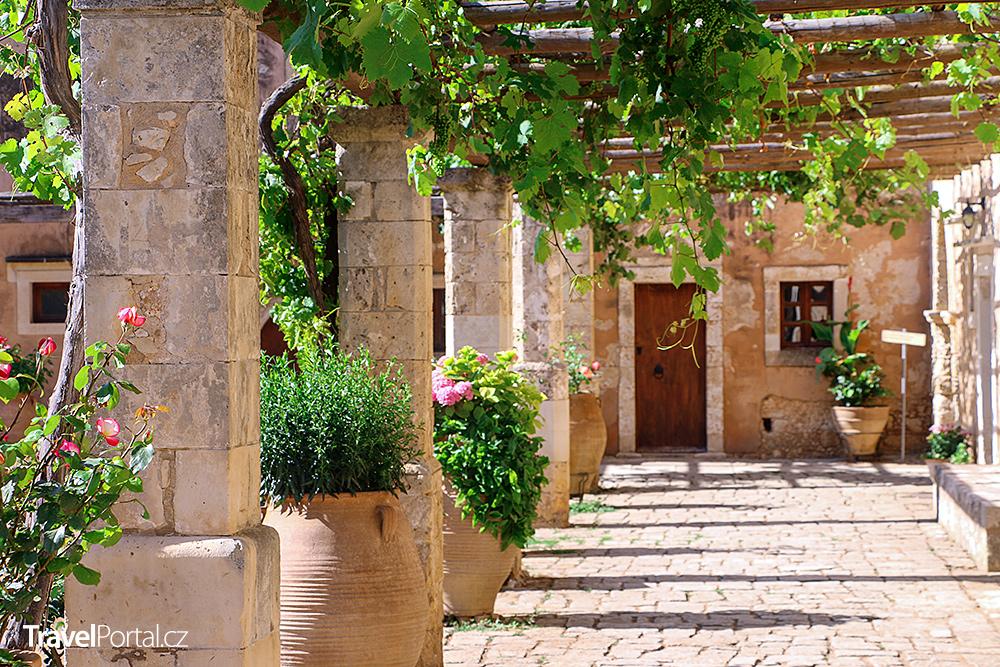 klášter na Krétě