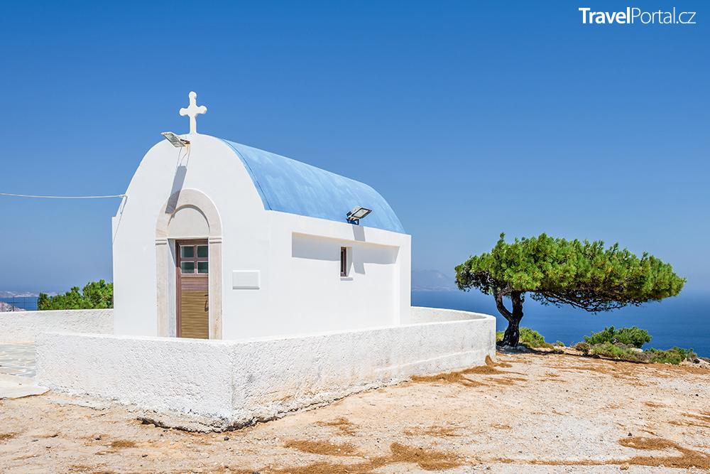 kostelík Agios Mamas na ostrově Kos