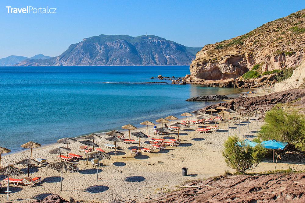 pláž Kavo Paradiso na ostrově Kos