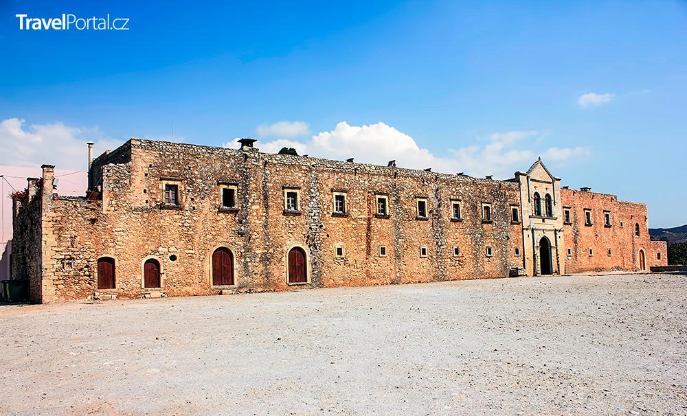 západní brána kláštera Arkadi