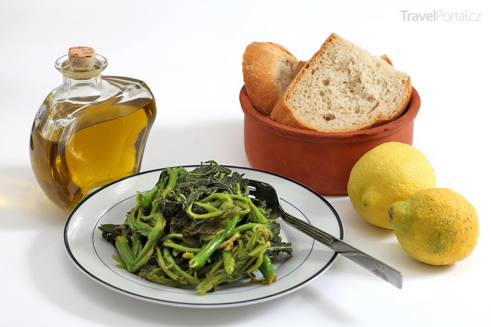 zdravý řecký salát