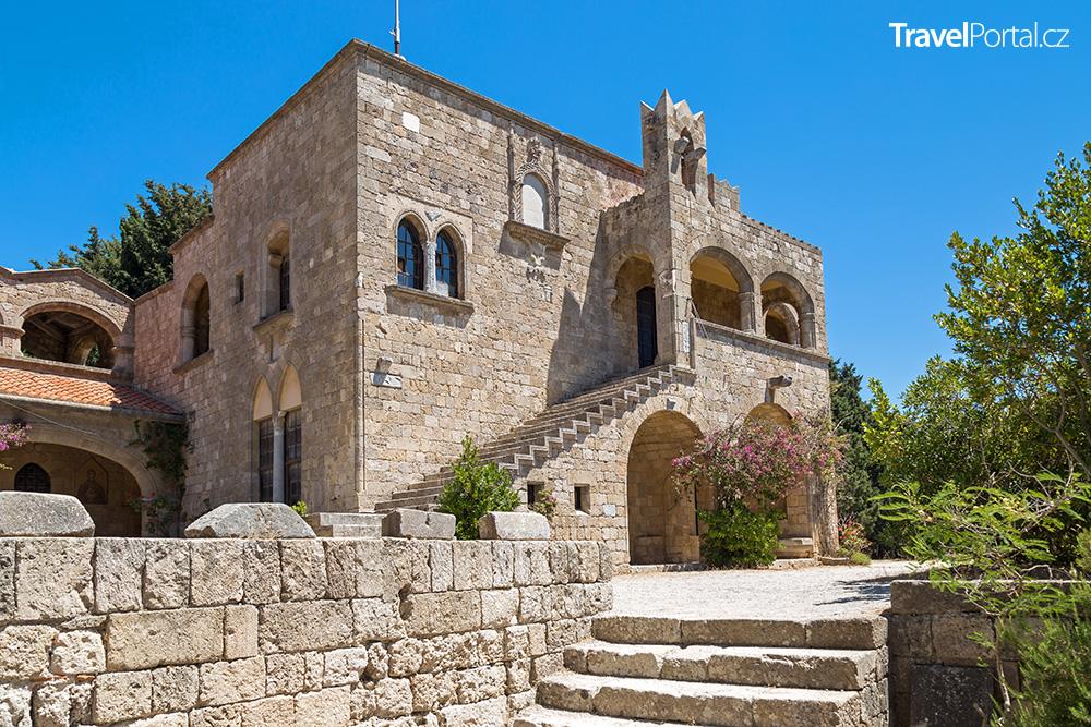 klášter Filerimos na ostrově Rhodos