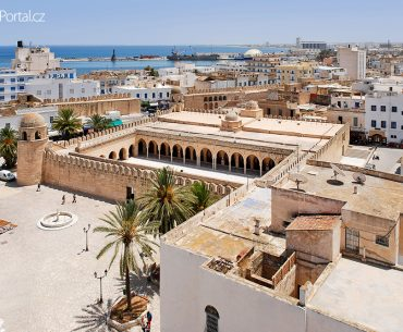 medina ve městě Sousse