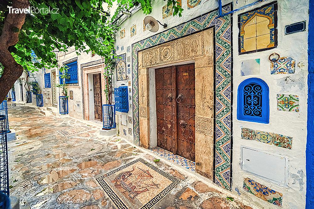 uličky města Hammamet