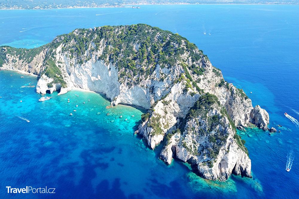 Marathonisi neboli Želví ostrov
