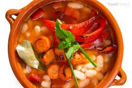 bulharské polévka bob čorba neboli bob chorba