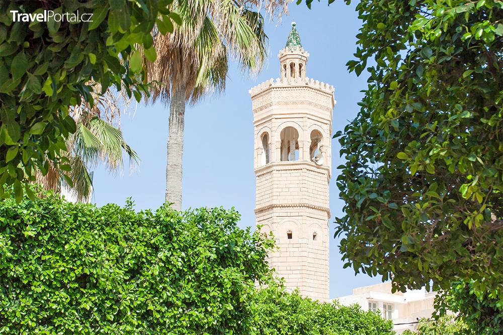 minaret v Mahdii