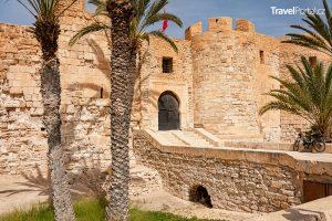 pevnost Borj El Kebir neboli Borj El Ghazi Mustapha