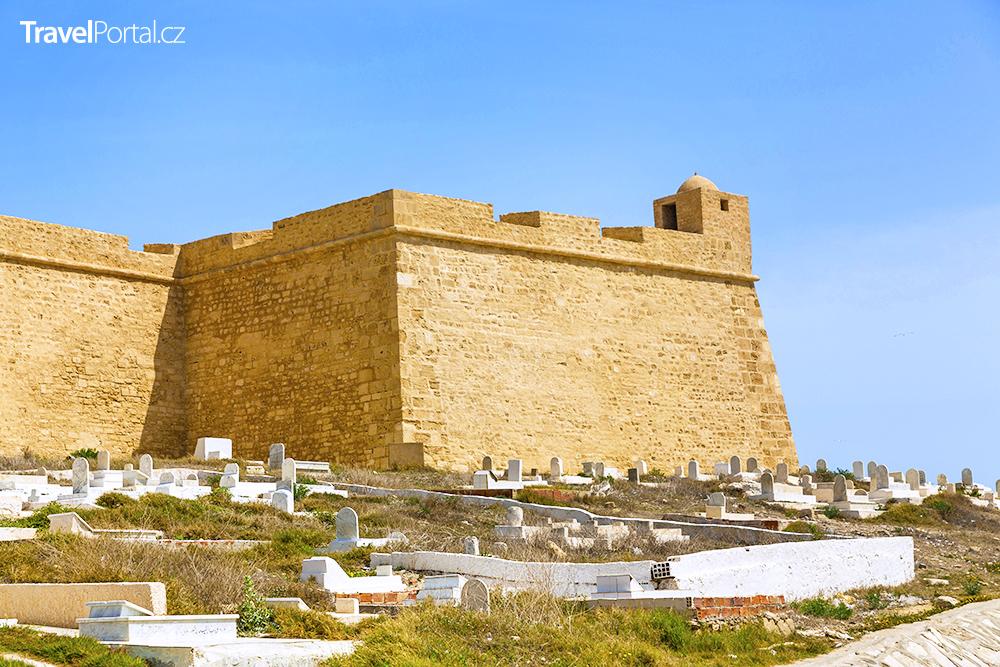 pevnost Borj el-Kebir ve městě Mahdia