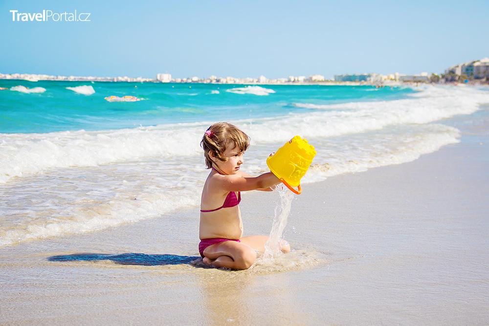 pláž v letovisku Mahdia