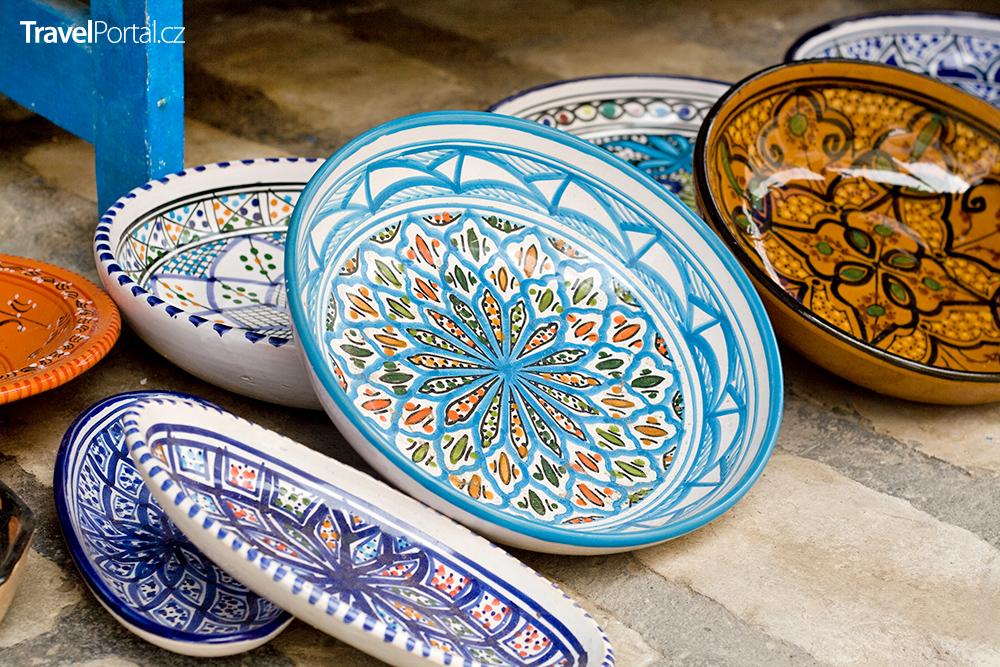 tradiční tuniská keramika