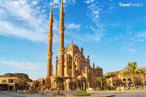 mešita El Sahaba ve městě Sharm El Sheikh