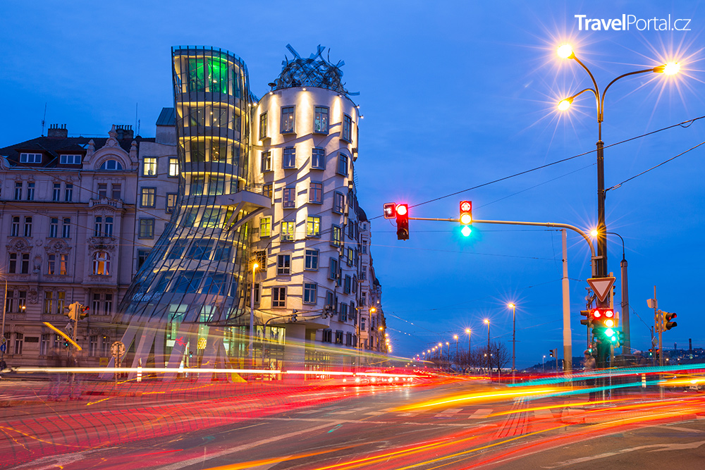 Tančící dům v Praze je devátá nejhezčí stavba světa podle pravidel zlatého řezu