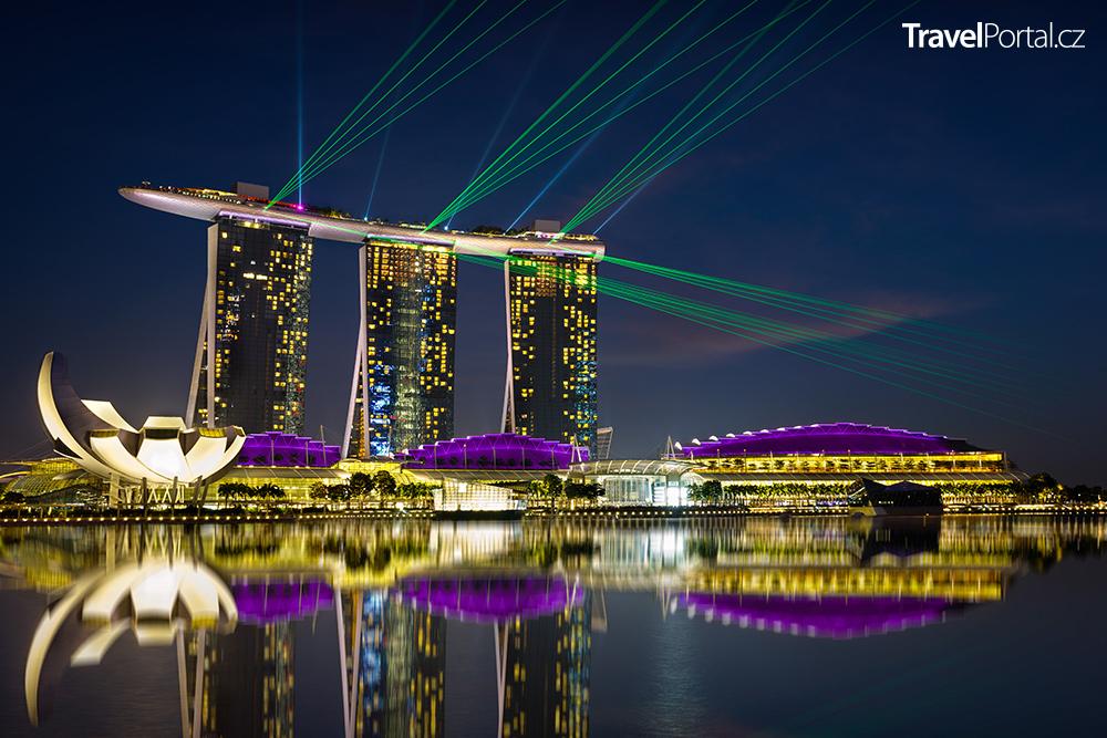 hotel Marina Bay Sands v Singapuru