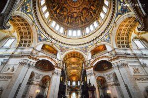 interiér katedrály sv. Pavla