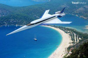 nadzvukové letadlo Spike S-512