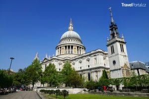 nejhezčí stavba světa - katedrála sv. Pavla v Londýně