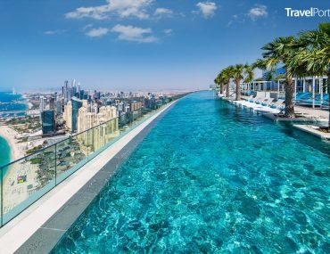 nejvýše položený nekonečný bazén na světě