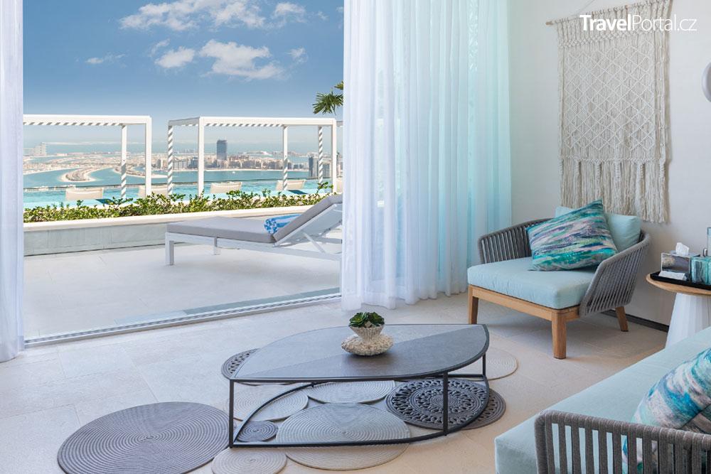 pokoj v hotelu Address Beach Resort ve městě Dubaj