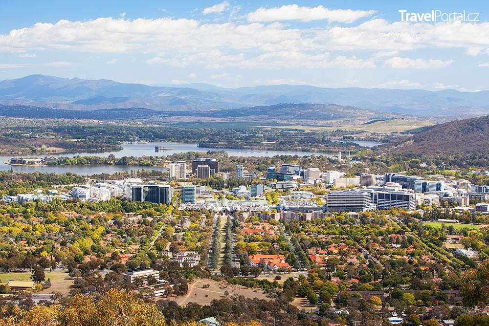 australská Canberra