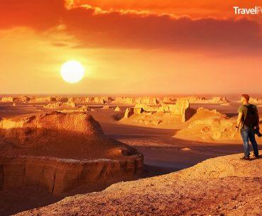 nejteplejší místo na světě - poušť Lút