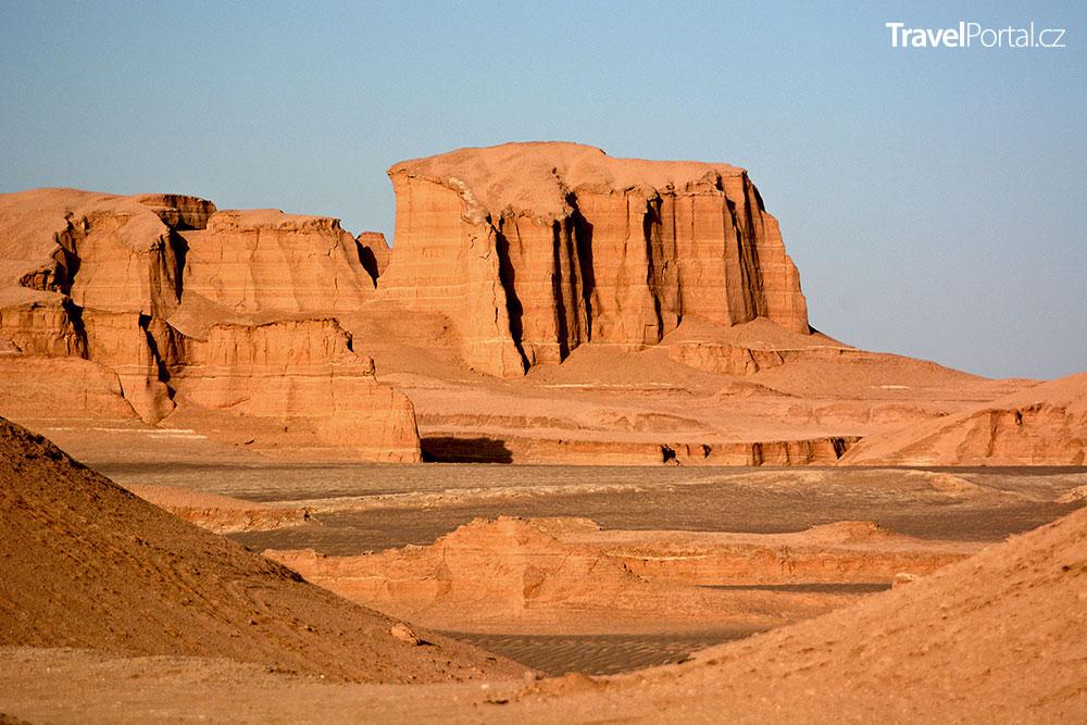 solná poušť Lút v Íránu je nejteplejší místo na světě