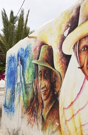 Djerbahood: Čtvrť ve městě Er Riadh na Djerbě zaujme street artem