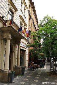 hotel Galerie Royale a restaurace U Zábranských