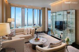 J Hotel v mrakodrapu Shanghai Tower