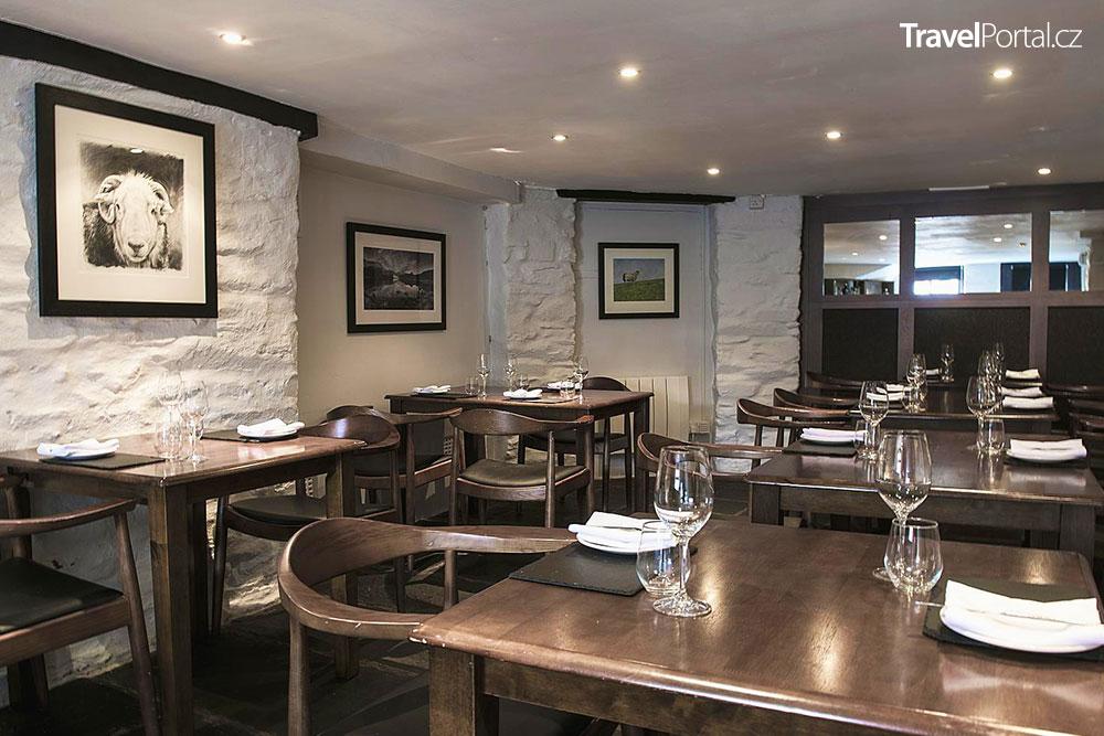 The Old Stamp House Restaurant v Ambleside je Nejlepší restaurace světa za rok 2021