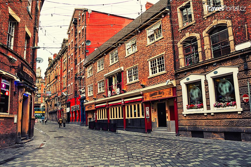 město Liverpool