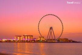 největší vyhlídkové kolo na světě nese název Ain Dubai