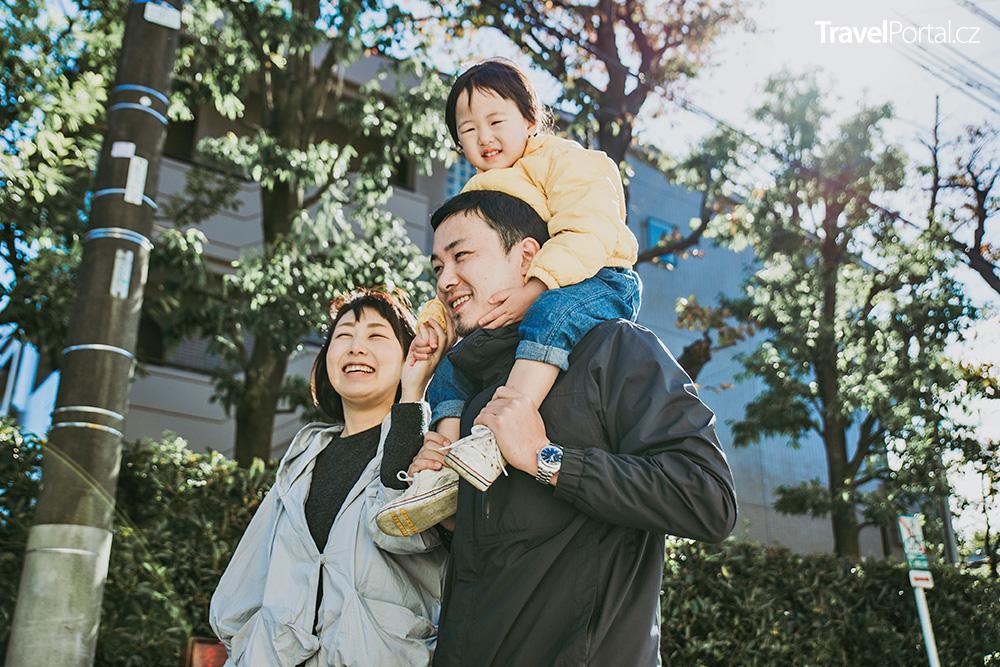 rodina ve město Tokio